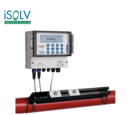 Ultrasonic Clamp-on Flowmeter  iSOLV TUF333 Fixed Ultrasonic ClampOn Flowmeter